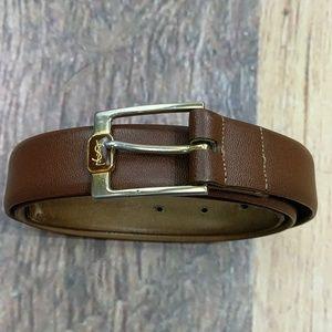 YSL Yves St Laurent Men's Belt Size 34 Vintage